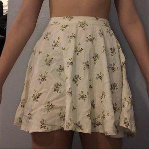 Ralph Lauren Dainty Floral A-Line Skirt